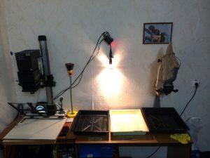 Darkroom in my livingroom, Tomsk, Russia, 2014